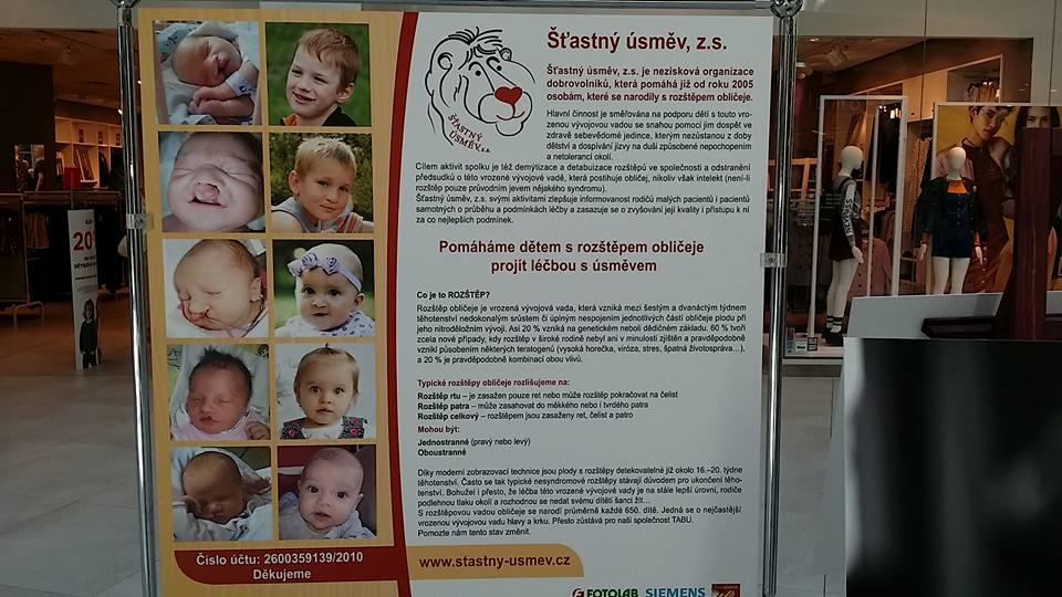 Informační banner na výstavy připravila Kateřina Lamatová