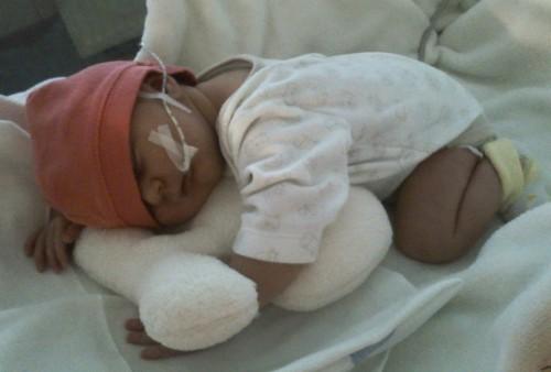 Lilianka se narodila s PRS
