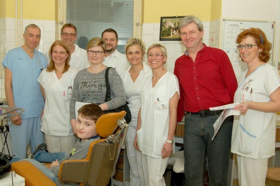 Rozštěpový tým KPECH FN USA v Brně