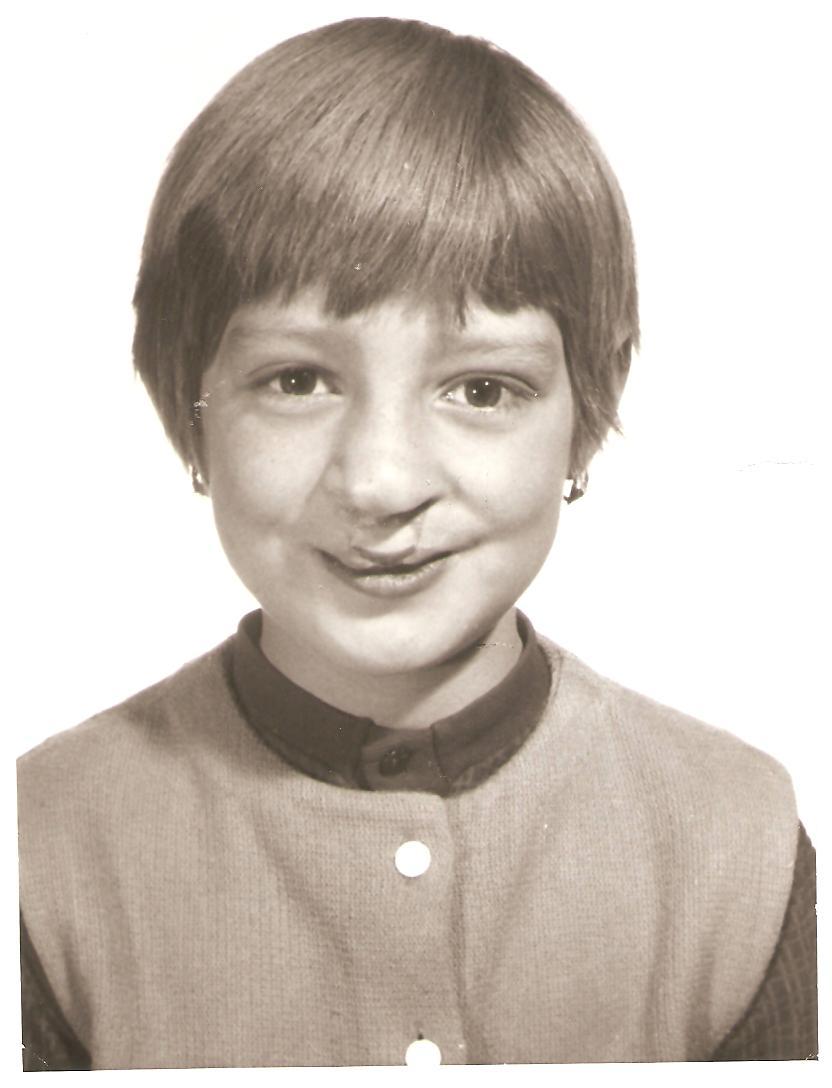 Jana v 10-ti letech