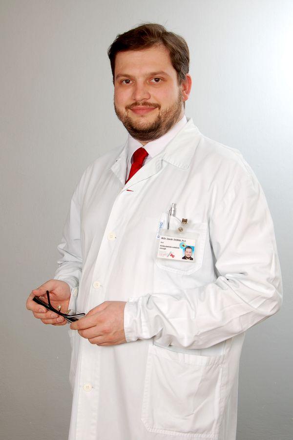 MUDr. Zdeněk Dvořák, PhD.